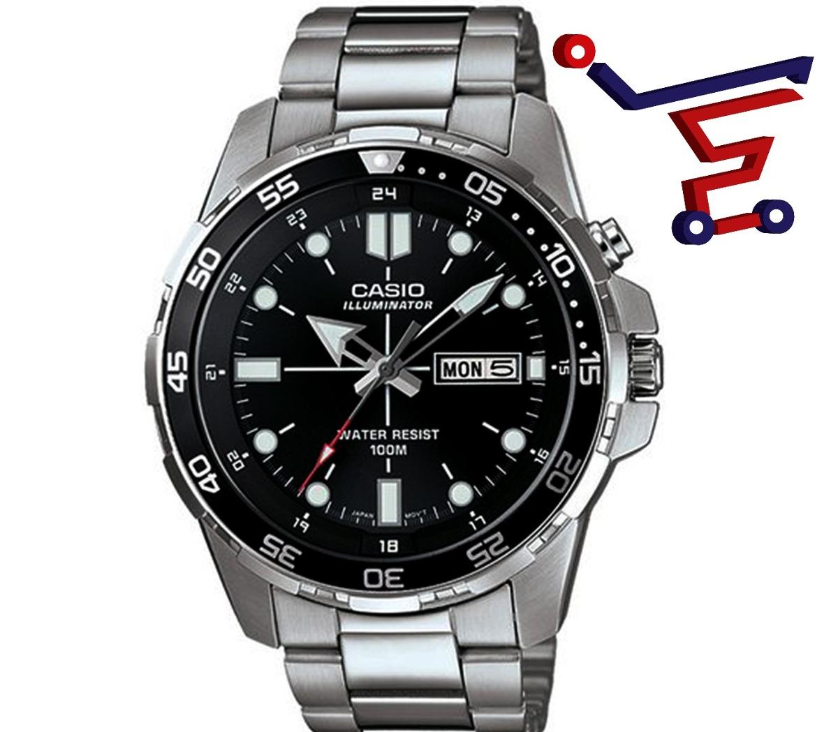 1079d 1a CuarzoPara Hombreledelectro Casio Mtd Reloj De CxrtshQdB