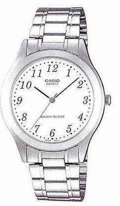 4fb3878a54b3 Reloj Casio Mtp 1128-7 Acero Inoxidable Plateado Original ...