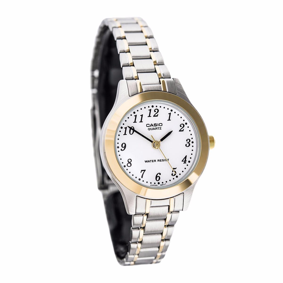 516e87d3d86e reloj casio mtp 1128g-7 acero inoxidable plateado original. Cargando zoom.