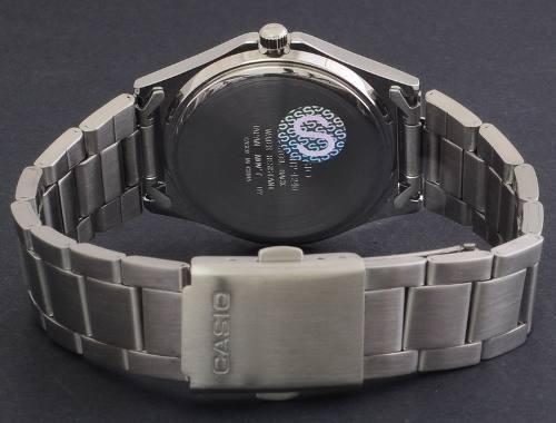 reloj casio mtp-1240d nuevo elegante analogo acero