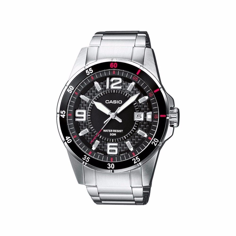45479f531b30 Reloj Casio Mtp 1299-1 Acero Inoxidable Plateado Original -   322.990 en  Mercado Libre
