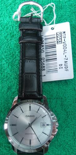reloj casio mtp-v004 cuero hombre original..... no copias!!