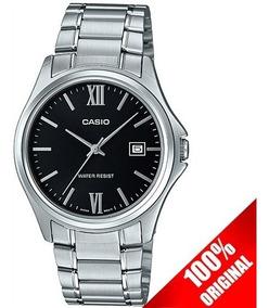 Reloj Casio Mtp1404 Acero Cara Negra Estilo Clásico