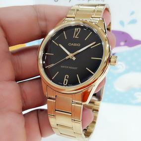 0d307ddd7fb5 Reloj Casio Dorado Analogico Hombre - Joyas y Relojes en Mercado ...