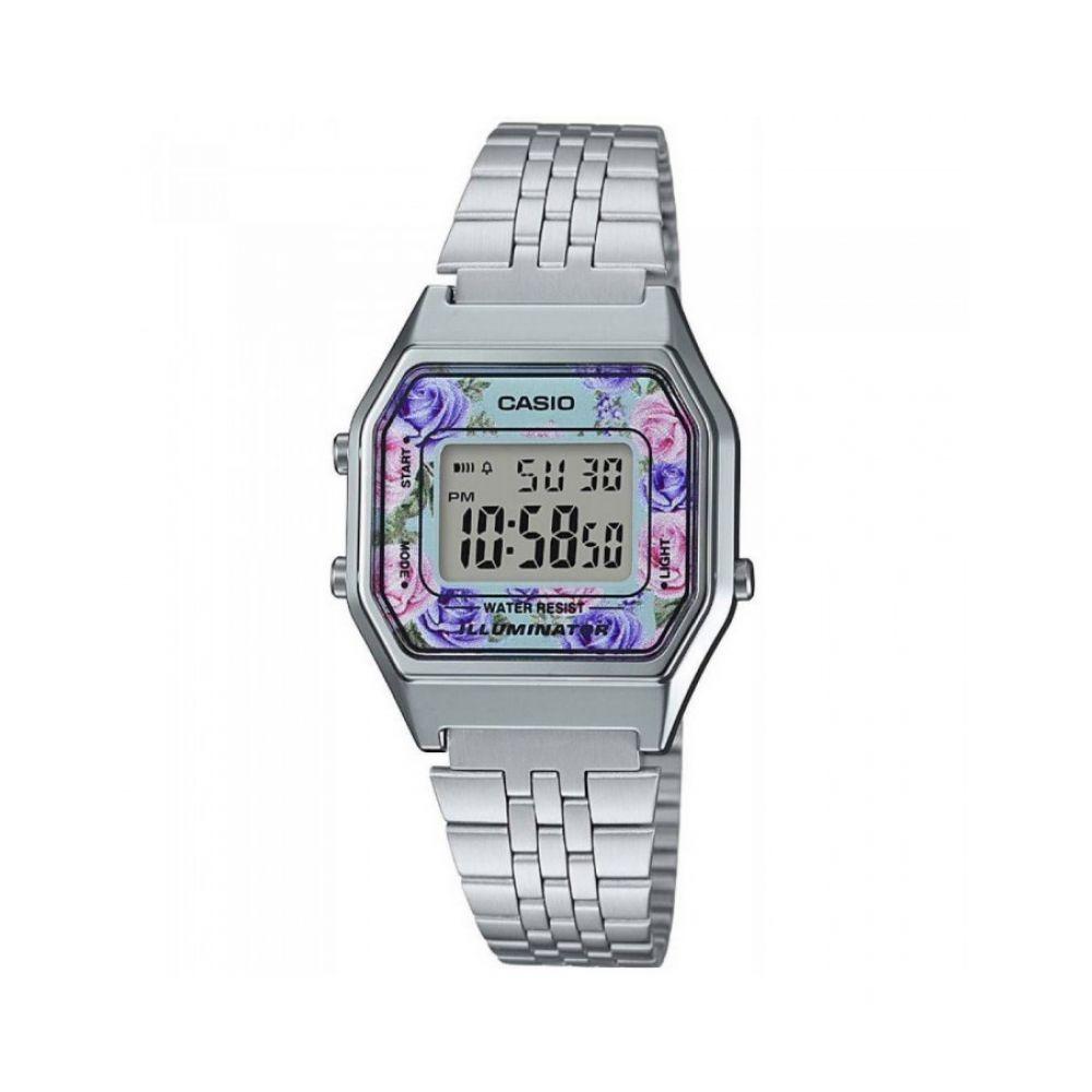 364199f06b82 Reloj Casio La680wa2c Plateado Mujer -   93.900 en Mercado Libre