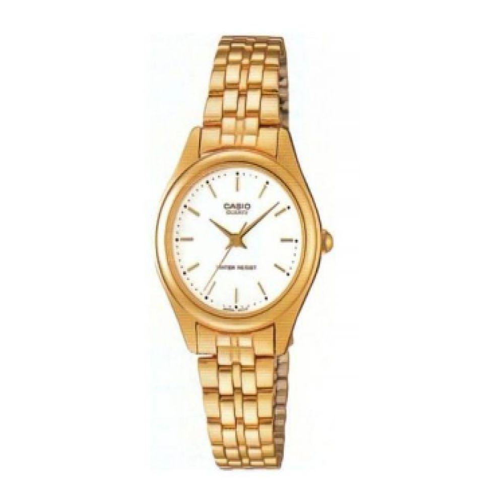 fb0a7dafaecf Reloj Casio Ltp 1129n 7ar Acero Dorado Mujer -   229.900 en Mercado ...