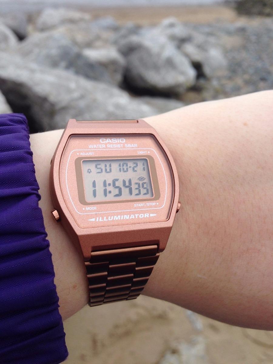 b071ad12bb12 Cargando zoom... casio mujer reloj · reloj casio oro rosado mujer rose gold  retro b640 · reloj casio mujer
