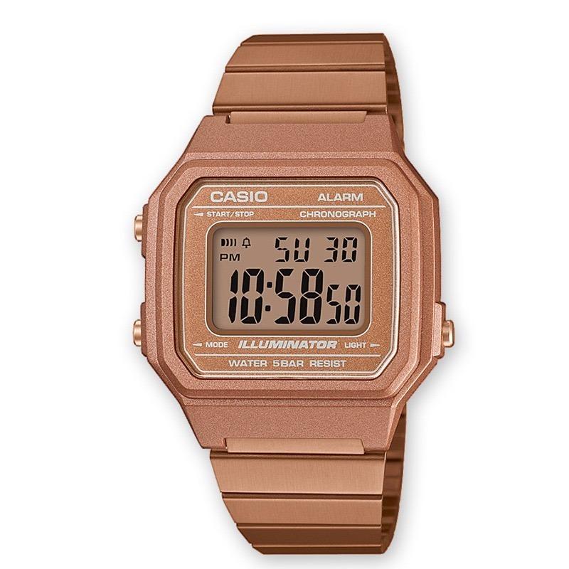 1be156d93f87 Reloj Casio Mujer B-650wc-5a Rosa Digital 6 Cuotas - Selfie ...