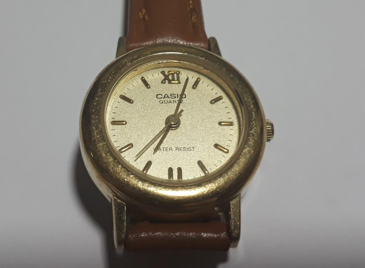 b2d510cb1ff9 reloj casio mujer ltp-1004 bañado en oro. Cargando zoom.