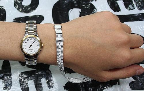 reloj casio mujer ltp-1131g-7a 7b 9a análogo banda de acero