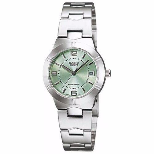 reloj casio mujer ltp 1241d acero inoxidable garantia 3 años