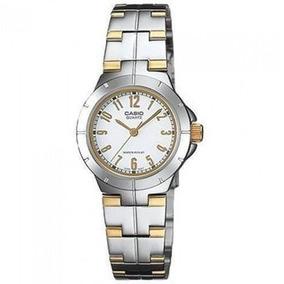 82326dbc567f Reloj Casio Analogico Ltp 1242 Bicolor Dama 100% Original - Relojes en  Mercado Libre Colombia
