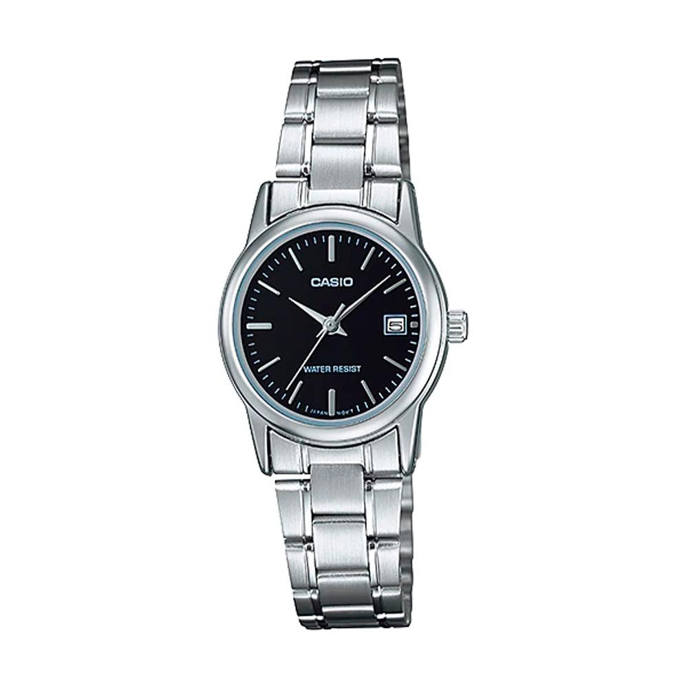 58589caa7a3a Reloj Casio Mujer Ltp-v002d-1a Análogo Pulso Metálico Indica ...