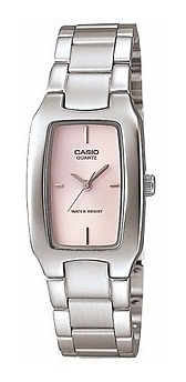 reloj casio mujer ltp1165a-1c2 4c 7c2 análogo banda de acero