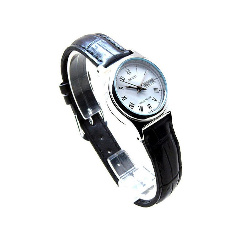 eb102b6d5b63 Reloj Casio Mujer Ltp-v006l-7b Análogo Pulso Cuero Indicador ...