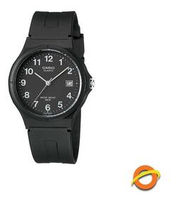 Resina Casio Reloj Mw Wr50 De 59 Analogico Fecha Correa mv8n0Nw