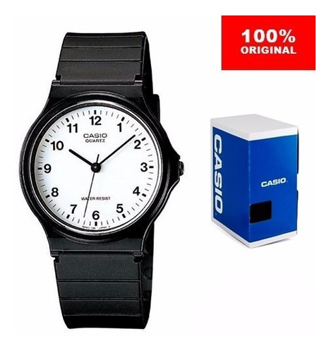 reloj casio mw59 - resistencia al agua - 100% original cfmx