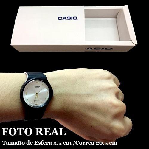 reloj casio negro mq-76 colores surtidos/relojesymas