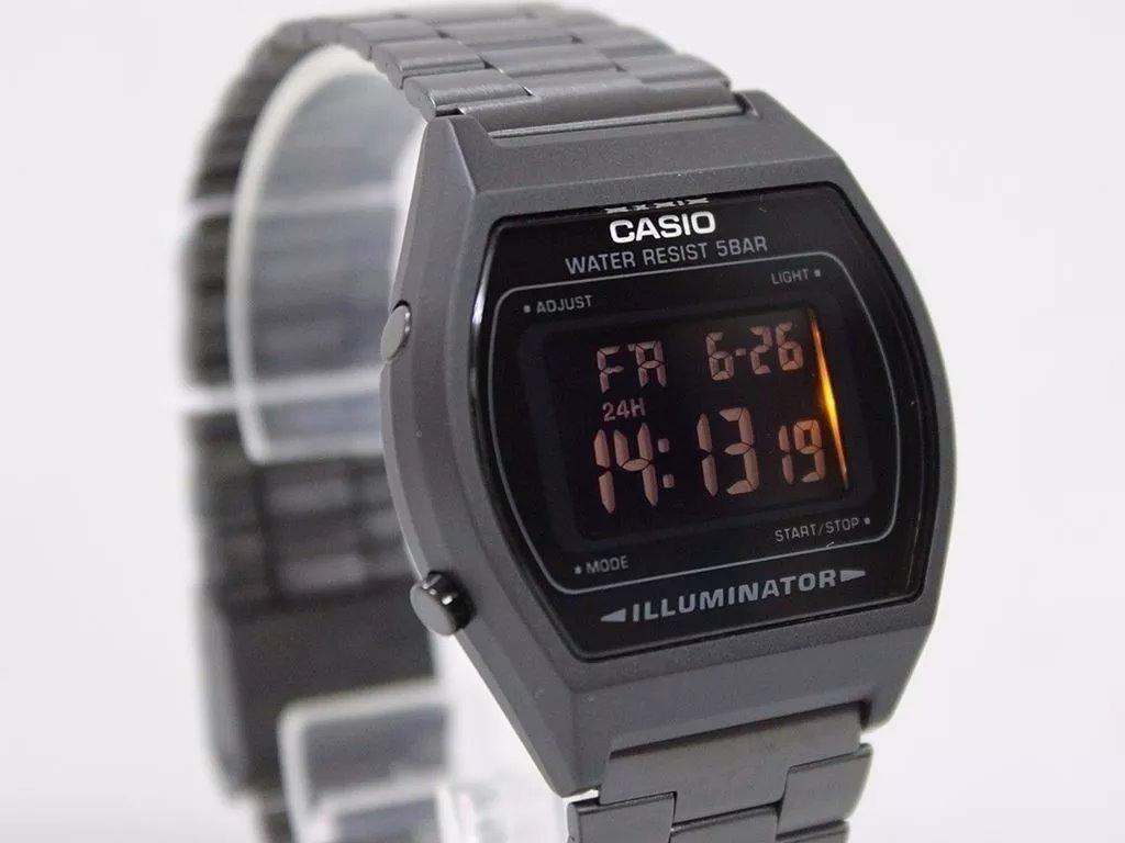 fa17c338ae2e reloj casio negro retro vintage collection original. Cargando zoom.