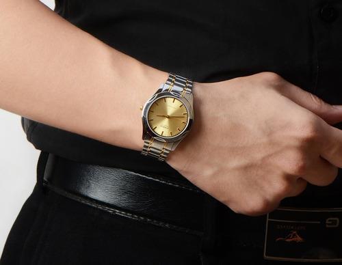 reloj casio original acero new caballer analogo mtp1275sg-9a