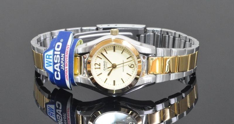 62c113771736 reloj casio original acero nuevo de dama ltp-1253sg-9adf. Cargando zoom.