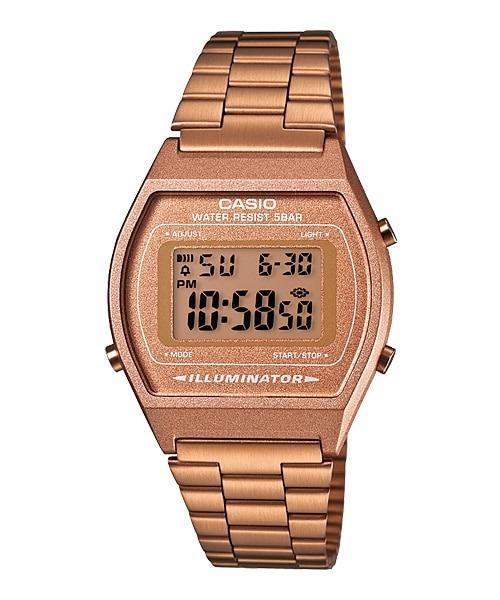5d675ee868f8 Reloj Casio Original Dama B640wc Dorado Rosa Vintage -   1