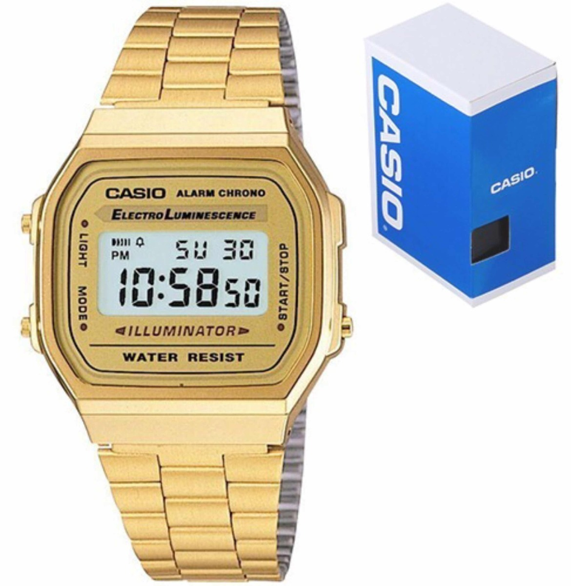 09c6e73ac1fc Reloj Casio Original Dorado -   460.00 en Mercado Libre