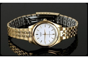 1129n Reloj De Dama 7a Dorado Acero Ltp Casio Nuevo Original yYb7gf6