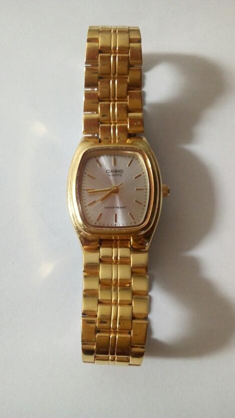 528c1c90a157 reloj casio original ltp-1189 para damas dorado. Cargando zoom.