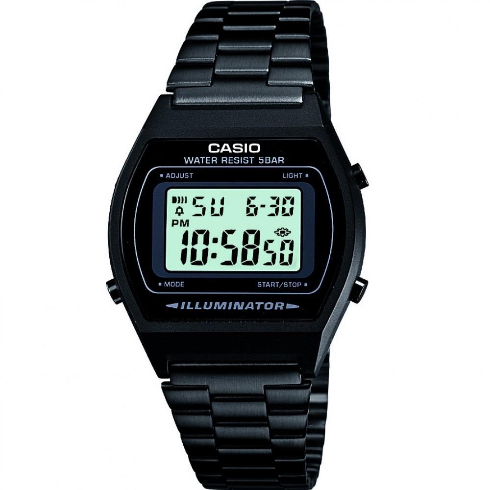 a533aa4c90c1 reloj casio original - unisex retro color negro b640wb-1aef. Cargando zoom.