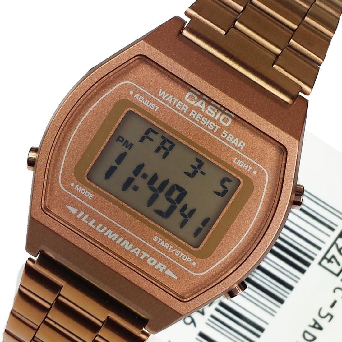 7efbd372e66c Reloj Casio Oro Rosado Mujer Rose Gold Retro B640 -   179.900 en ...