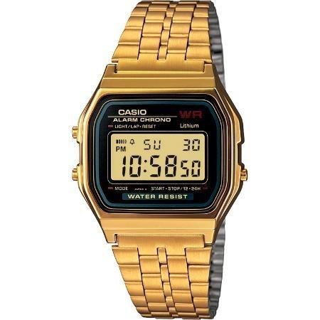 reloj casio outlet a159wgea-1 dorado