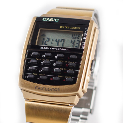 reloj casio outlet ca-506g-9a clásico
