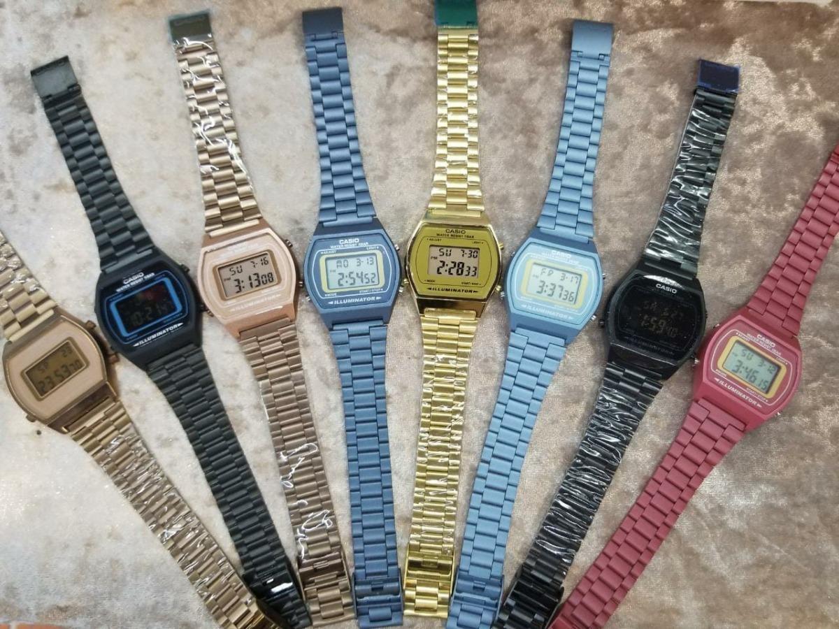 8c96c09d2806 reloj casio outlet varios colores ovalado (precio p unidad). Cargando zoom.