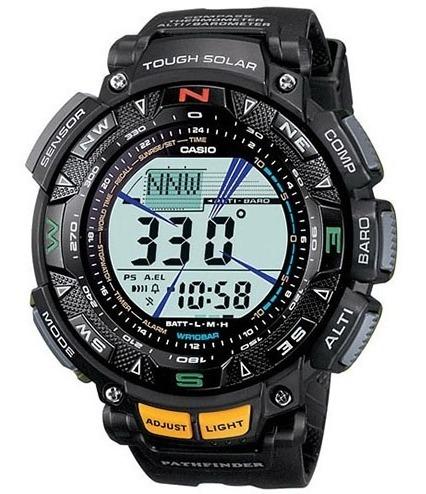 Reloj Casio Pag240 1cr Pro Trek Triple Sensor Ent Inmediata