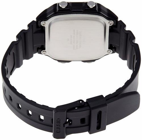 reloj casio para caballero ae-1200wh-1b color negro