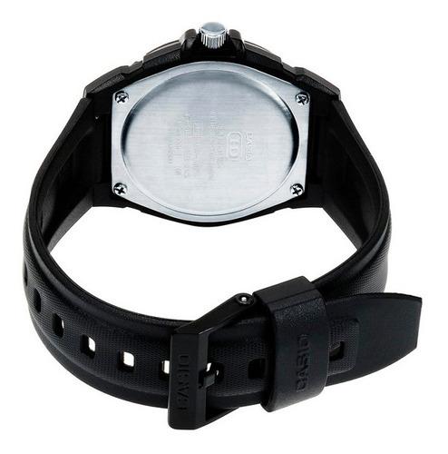 reloj casio para caballero color negro mw-600f-2avcf
