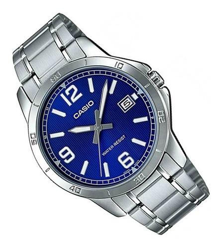 reloj casio para dama ltp-v004d calendario acero original!!