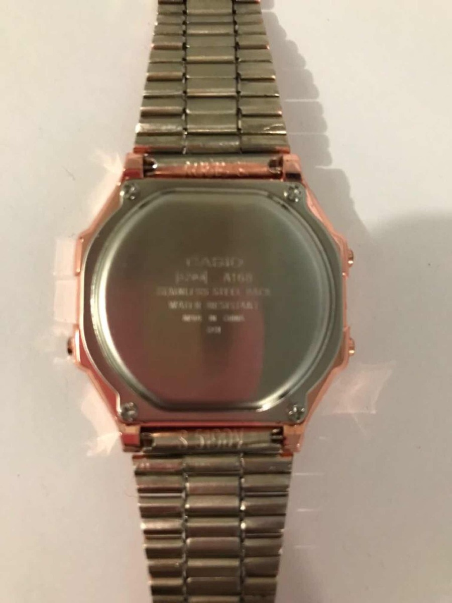 d3aa91972327 Reloj Casio Para Dama Rosa Con Alarma Y Luz -   420.00 en Mercado Libre