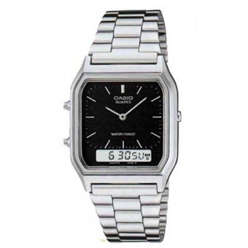 168f944821ca Reloj Casio Para Hombre Aq-230a-1d Clásico Con Cristales ...