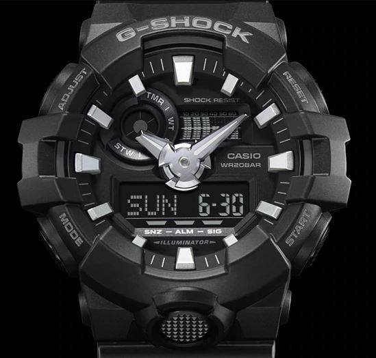 38bcffc4664d Reloj Casio Para Hombre Ga-700-1bcr