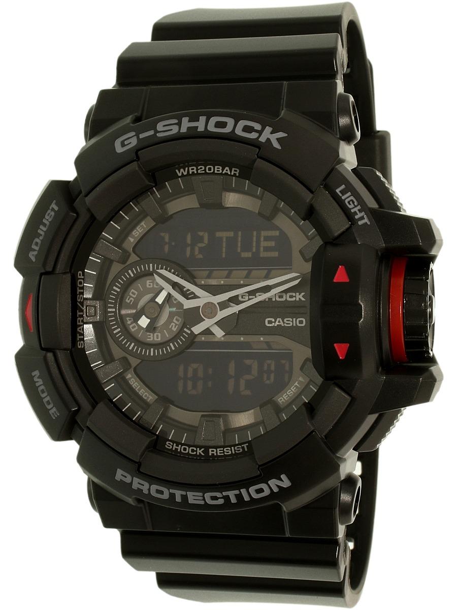 e381737b3378 Reloj Casio Para Hombre Ga400-1b G-shock Negro Deportivo De ...