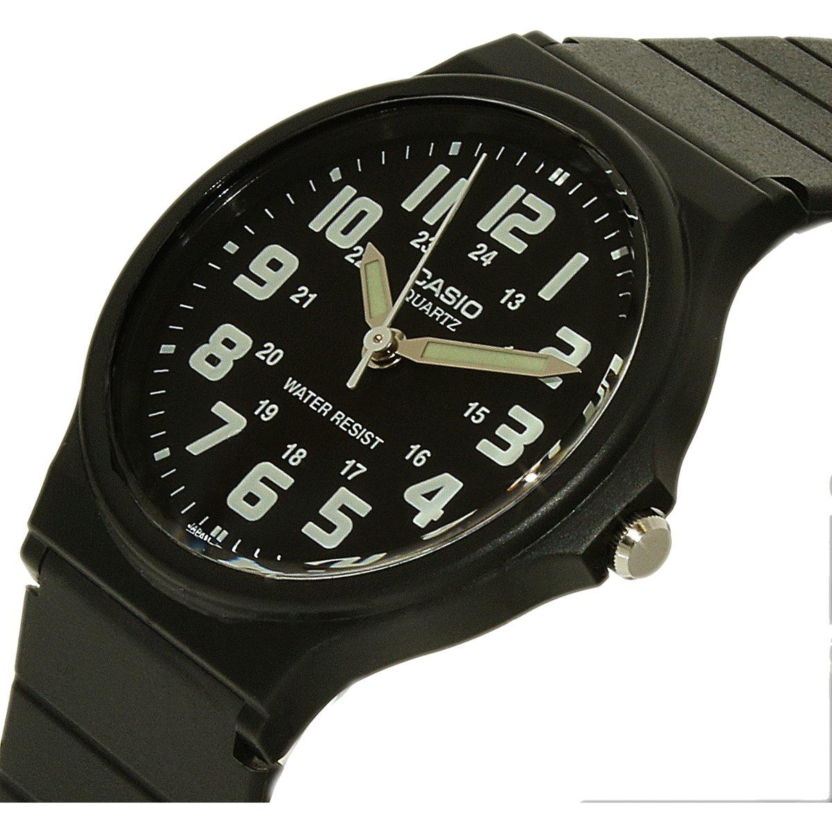c3de6d0027bf Reloj Casio Para Hombre Mq71-1b Negro Plástico Cuarzo -   121.550 en ...