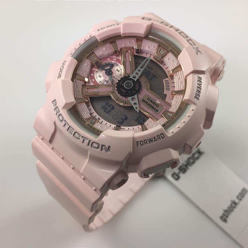 e781a418a484 reloj casio para mujer gmas110mp-4a1 g-shock rosado digital. Cargando zoom.