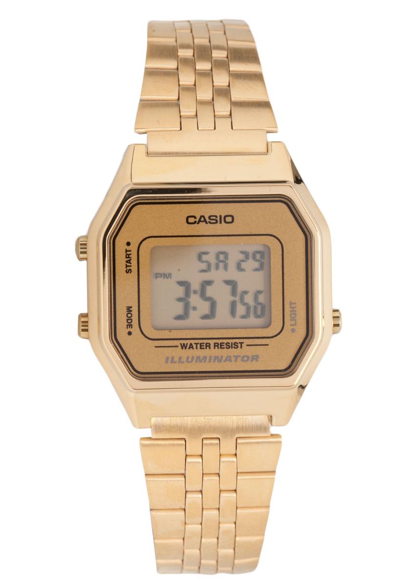 fb66a155b828 reloj casio para mujer la-680wga-9df digital dorado. Cargando zoom.