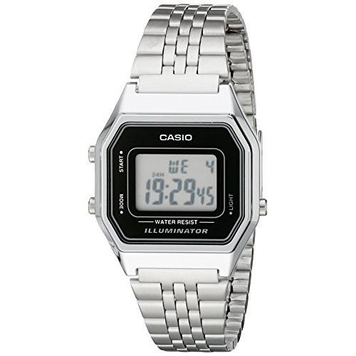 b407d97db22a Reloj Casio Para Mujer La680wa-1d Digital Plateado -   1