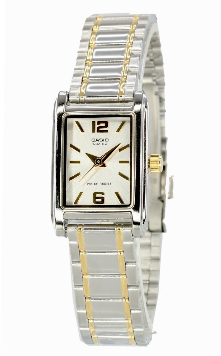 6f718aa66433 Reloj Casio Para Mujer Ltp-1235sg-7a    clásico    Acero In ...
