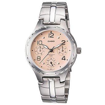 Reloj Casio Para Mujer Ltp 2064a Plateado Dial Rosa Diseño E ... c9791ba33e69