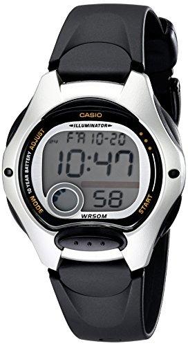 Para Correa Negro Color 1av Mujer Reloj Casio Lw200 Con mIby6f7Ygv