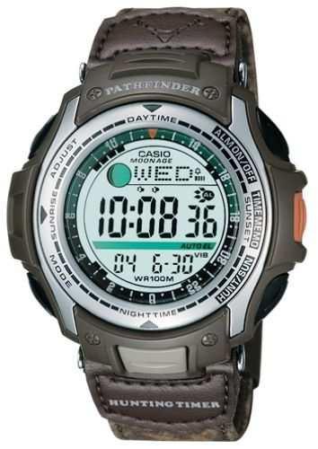 reloj casio pathfinder pas-410 caza cronometro militar